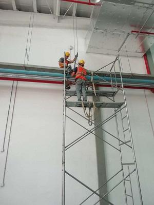 工业厂房配电安装要求